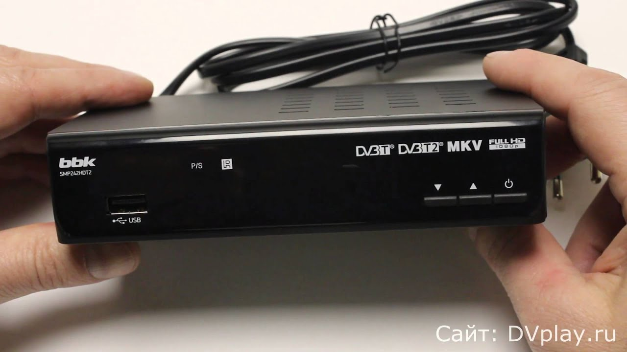 Цифровой ТВ тюнер DVB T2 для компьютера - YouTube