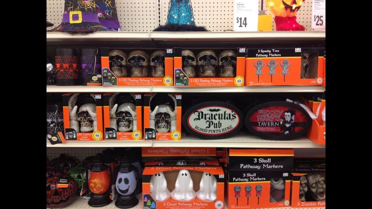 Big Lots Halloween Decorations 2019.Big Lots Halloween 2019 Displays Decor And Animatronics Overview Shop With Me