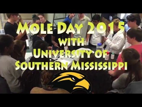 Mole Day 2015 with USM