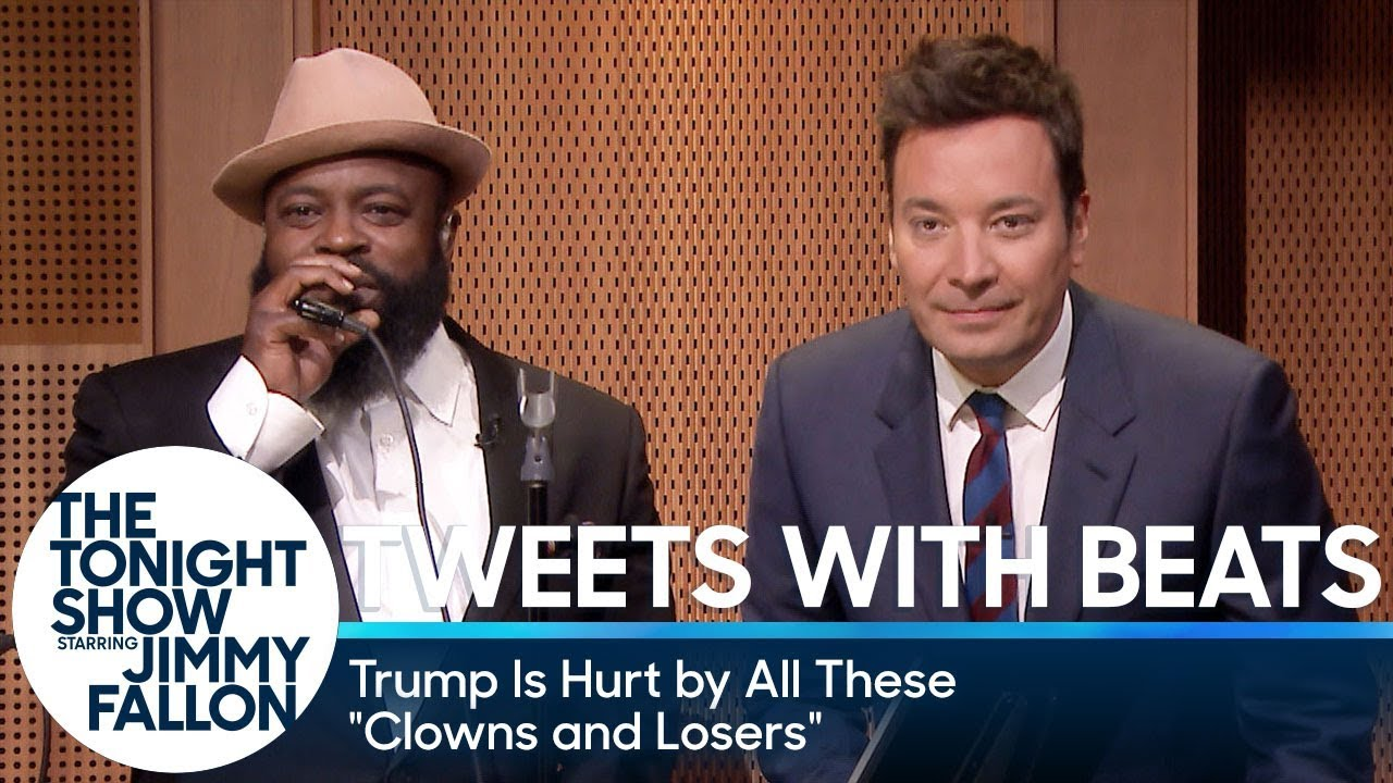 "Tweets with Beats: Trump Is Hurt by These ""Clowns and Losers"""