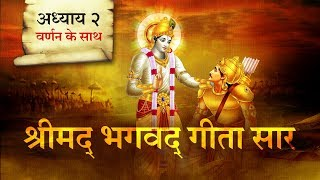 श्रीमद भगवत गीता सार- अध्याय 2 |Shrimad Bhagawad Geeta With Narration |Chapter 2 | Shailendra Bharti