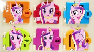 Princess Cadance Amazing Trapped Doors with Flurry Heart and Shining Armor Surprises
