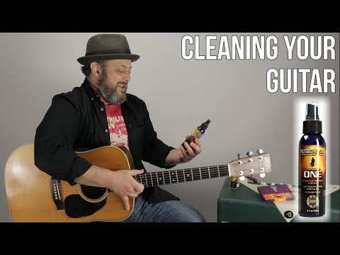Guitar Cleaner and Neck Conditioner Oil