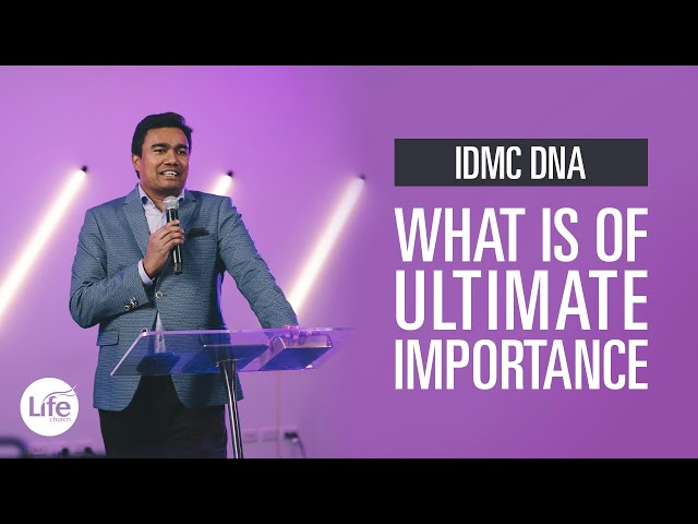 What is of Ultimate Importance | Rev Paul Jeyachandran
