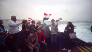 Witness: the joy of the members of the insurgency in the new Suez Canal