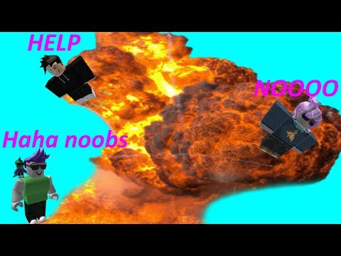 Roblox Exploiting - BLOWING UP WORK AT A PIZZA PLACE