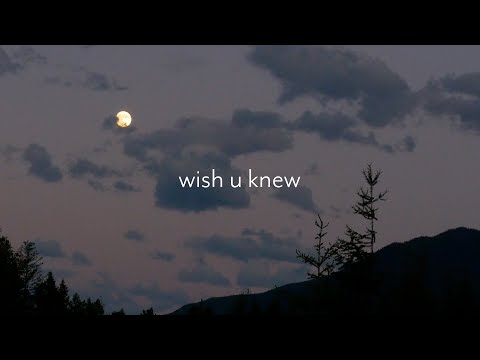 taylor swift / bon iver / phoebe bridgers type instrumental – wish u knew