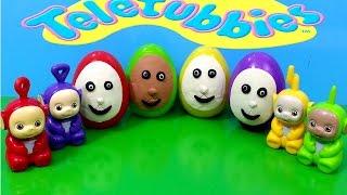 Surprise Eggs Play Doh Teletubbies Toys Unboxing Thumbnail