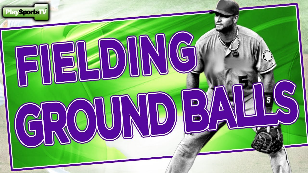 youth baseball drills fielding ground balls youtube