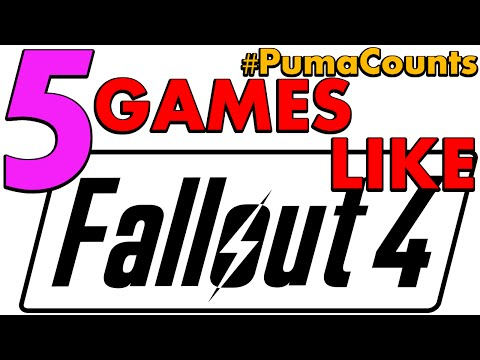 5 Games Like Fallout 3, 4 And New Vegas #PumaCounts