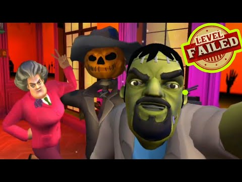Scary Stranger 3D -A Frightful Mess - Failed Ending [Happy Halloween Update] Android - New Update