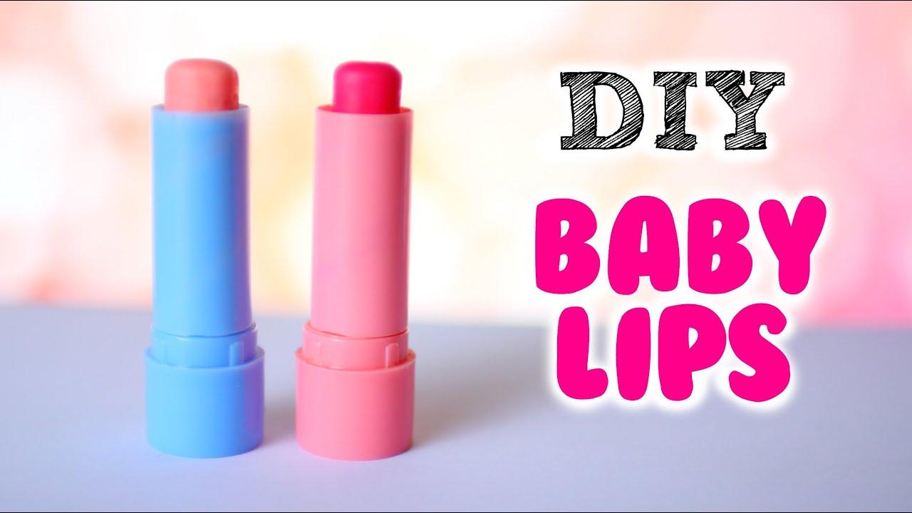Diy Baby Lips Diy Tinted Lip Balm 2 Ways Youtube