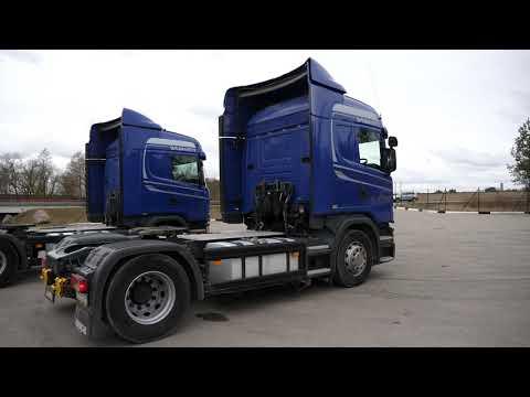 Скания G400, без пробега по России. Свежие машины на разборке грузовиков в Нижнем Новгороде