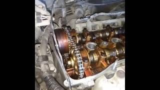 Скачать Toyota Ipsum ACM21 2AZ FE цепь ГРМ натяжка