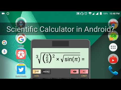 The Best Scientific Calculator App In Android! HiPer Scientific Calculator