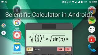 The Best Scientific Calculator App in Android! HiPer Scientific Calculator screenshot 2