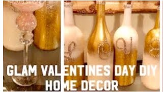 3 DIY Dollar Tree Home Decor Glam  Gifts Ideas For Valentine's Day Creating Elegance For Less