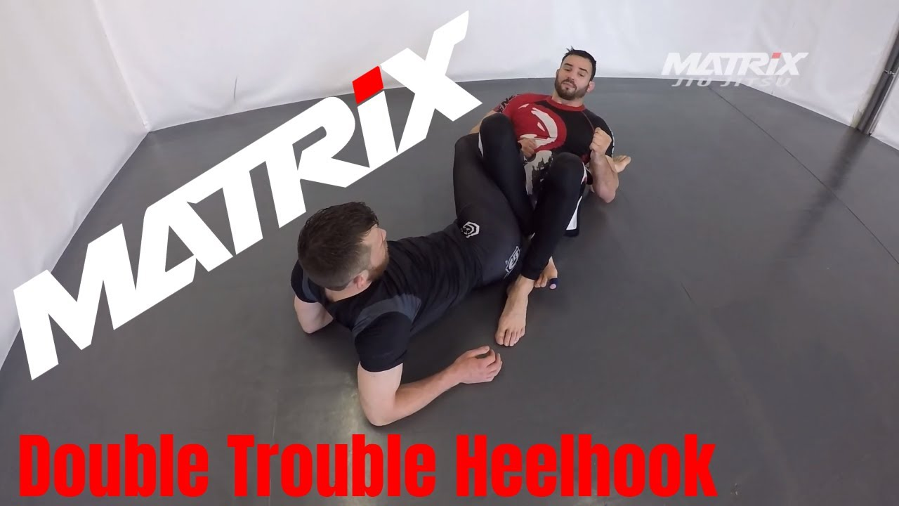 Inside Sankaku Double Trouble Heelhook - Matrix Jiu Jitsu Headcoach Rene Becker