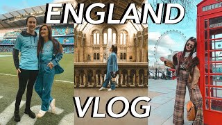 ENGLAND VLOG ★ Travel with Me to Manchester + London || Sarah Belle