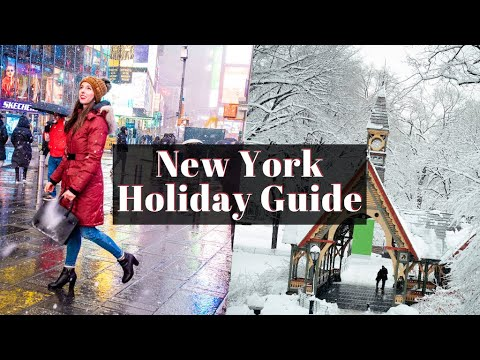 A Local's Guide To The Holidays In New York | Restaurants, Sightseeing, And More