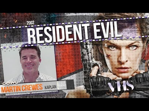 Review - Resident Evil (2002) + Martin Crewes interview // VHS