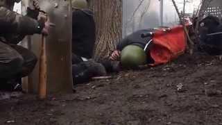 Вот она - современная война! Украина, горячая точка Майдана.