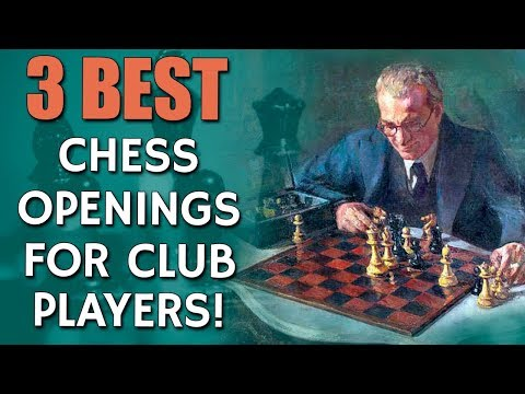 3 Best Chess Openings for Club Players 👍 with GM Damian Lemo