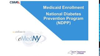 NDPP Medicaid Enrollment