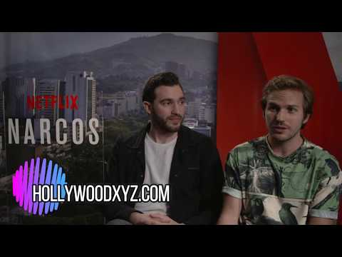 Narcos Season 3 meet new DEAs Matt Whelan & Michael StahlDavid