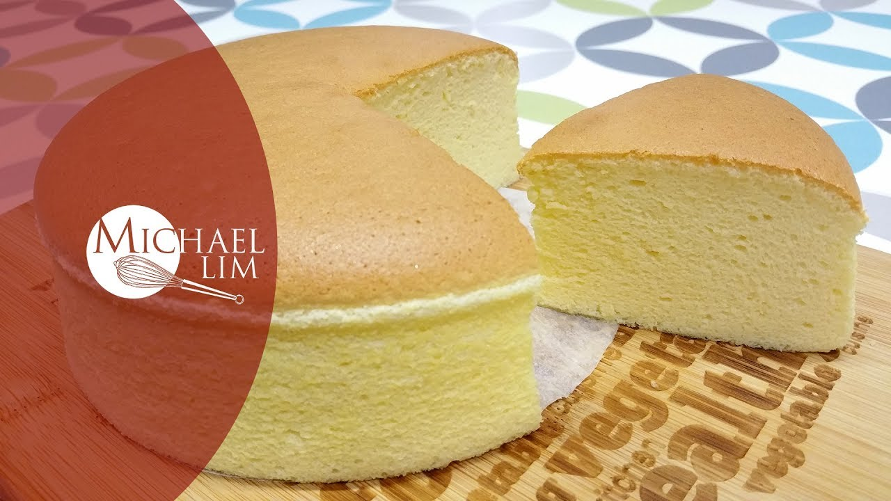 Japanese Cheese Cake Basic Newly Improved Recipe Youtube