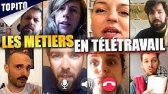 Les métiers en télétravail ! (feat Jérôme Niel, Pierre Croce, Laura Calu et plein d'autres !)