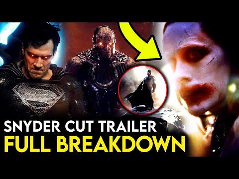 Justice League Snyder Cut Official Breakdown - JOKER & BATMAN Scene, Things Missed & More! - BobaTalks