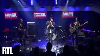 Sophie Tith - La nuit je mens en Live dans le Grand Studio RTL