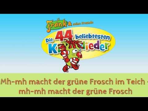 Karaoke - Mh mh macht der grüne Frosch im Teich - Frank und seine Freunde
