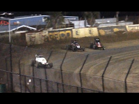 Race Finish - USAC at East Bay Raceway Park, 2-27-2015