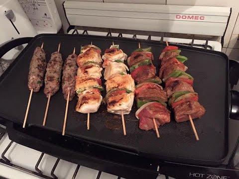 Parrillada Arabe: Shish Kebab, Shish Tauk Y Lahme Shikaf