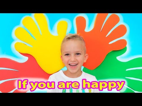 If You're Happy and You Know It | Kids Song from Vlad and Nikita