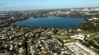 № 1747 АМЕРИКА Вид с Вертолета Orlando from the sky Helicopter tour  17.12.2011