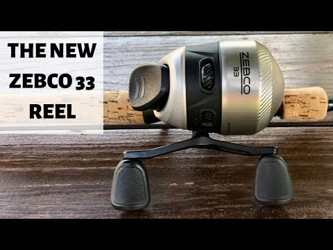 The New Zebco 33 Reel : Available In 2020