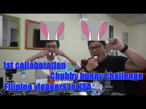 Chubby Bunny Challenge + First Collaboration with Mr. Chinito/Vlog - Filipino Vloggers(TAGLISH)