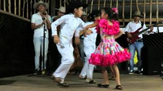 Macarena dance group