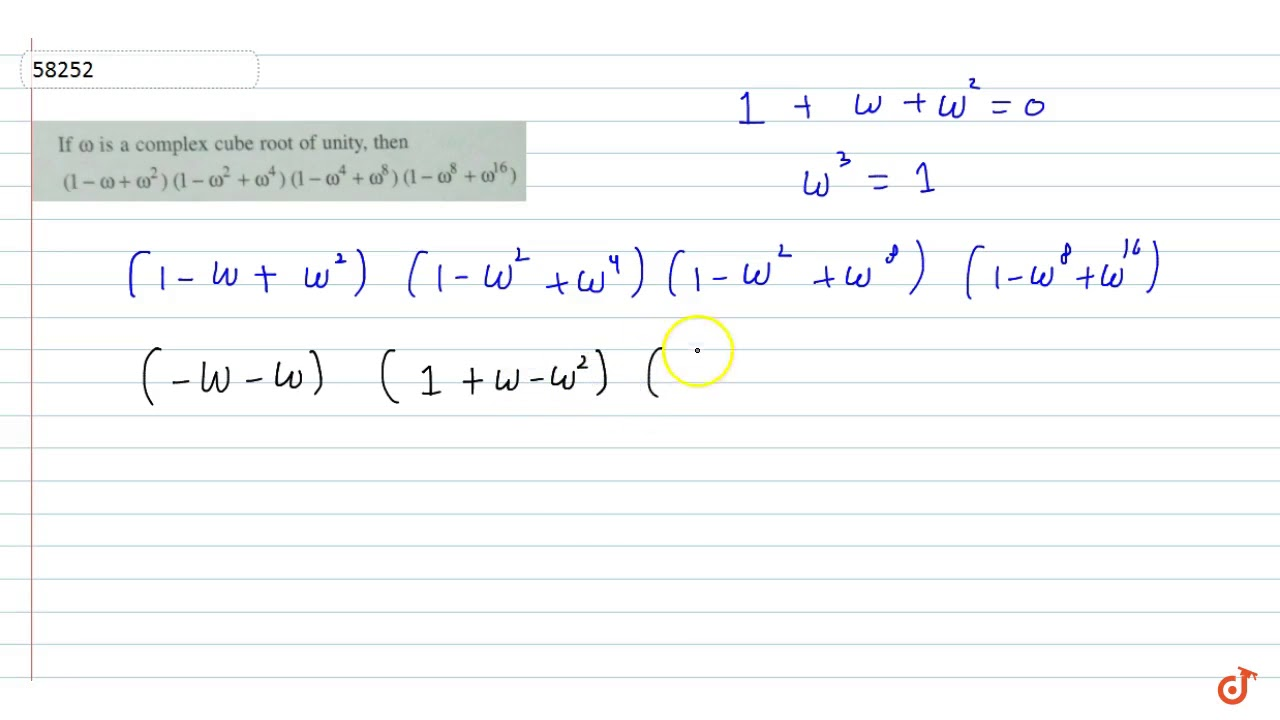 If `omega` is complex cube root of unity `(1-omega+ omega^2)  (1-omega^2+omega^4)(1-omega^4+omeg