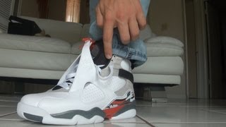 Air Jordan Retro 8 Bunny 2013 Release on foot Review