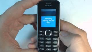 Nokia 112 factory reset