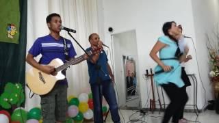 Festa das crianças na igreja evangélica clínica de Deus!    😆😂😂show! !!🙌