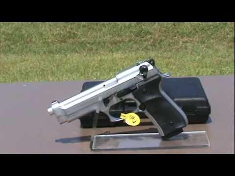 Replica Model F92 Metallic Blank Firing Gun 9mm.mpg - YouTube