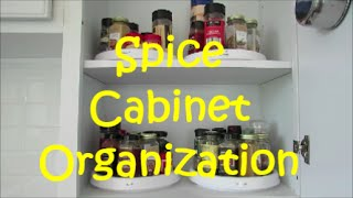 Spice Cabinet Organization | Vinegar And Oil Organization