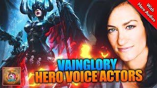 Vainglory | Best hero quotes | Voice Actors special
