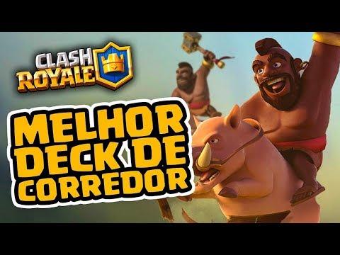 NOVO DECK DE CORREDOR NO CLASH ROYALE!
