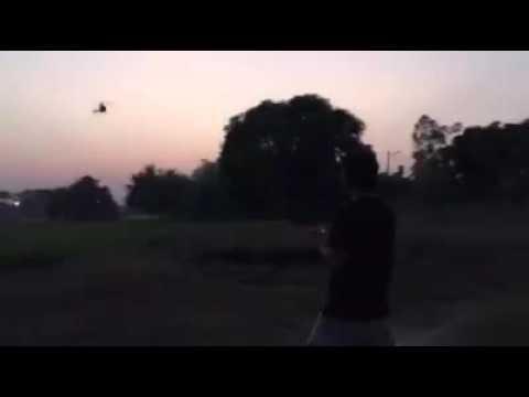 เครื่องบินตกกระทันหัน กลางทุ่งนาหลังบ้าน